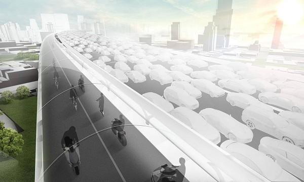 Проект от бъдещето! BMW готви магистрала за е-мотоциклети