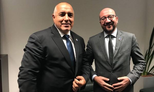 Брюксел честити на Борисов: Блестящ Григор Димитров!