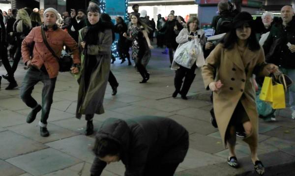 Паниката в лондонското метро - заради пререкание