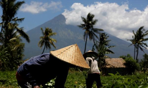 Максимална тревога: Евакуират остров Бали заради вулкана Агунг