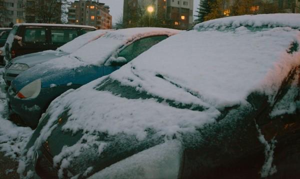 Заради снега: Над 70 катастрофи в София