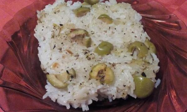 Рецептата Dnes: Печен ориз с маслини
