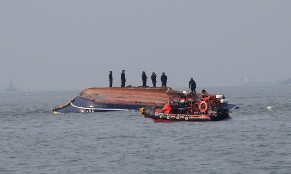 Кораби се сблъскаха край Южна Корея, има жертви