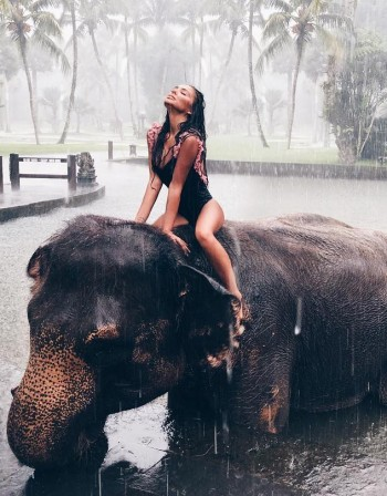 Една Николета, един слон и рожден ден в Бали