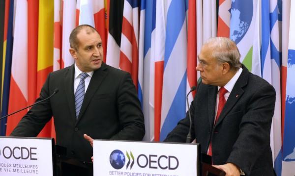 България отговаря на критериите за членство в ОИСР, вярва Радев