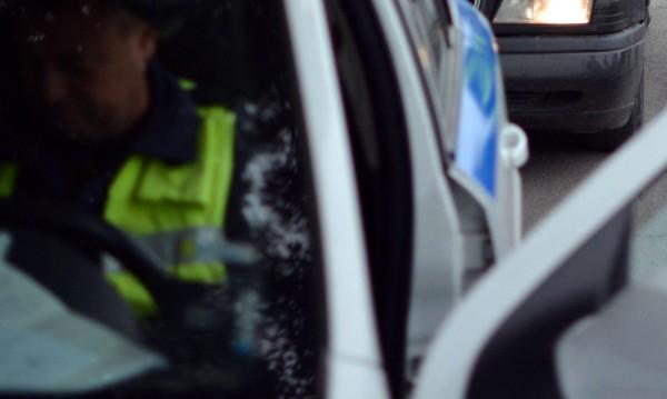 Пиян си спретна гонка с полицията край Първомай