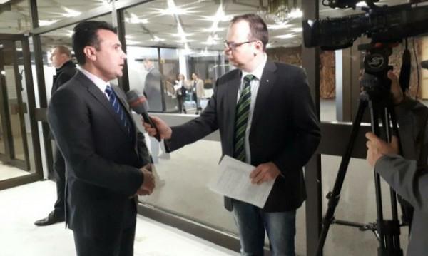 """Македонският премиер Зоран Заев с интервю за """"Брюксел 1"""""""