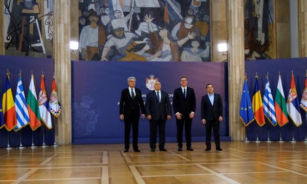 Борисов на лидерската среща в Сърбия: Където се строи, няма войни