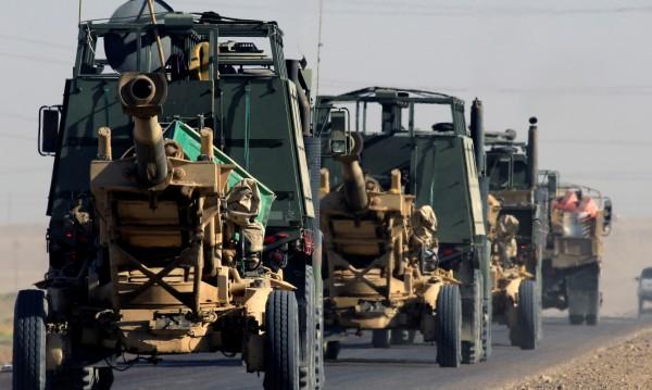 Военен парад в Ирак... По случай победата над ИД