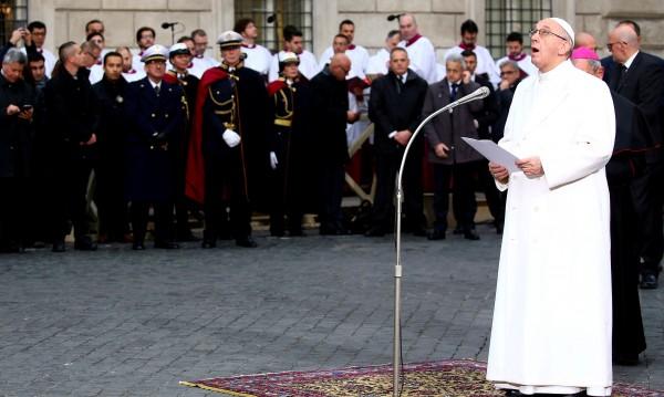 Папа Франциск отправи призив за мъдрост за Ерусалим