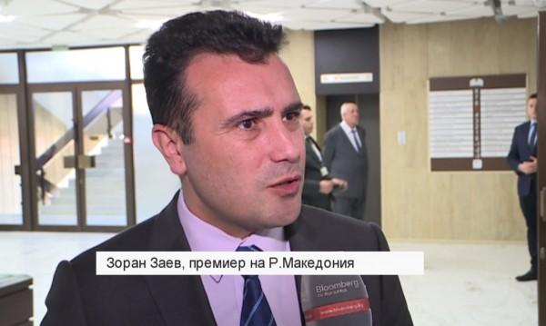 Зоран Заев пред Bloomberg TV Bulgaria: Готови сме за НАТО!