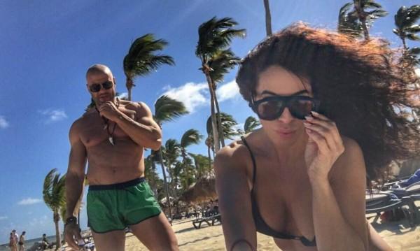 Маги Сидерова на меден месец в Доминикана