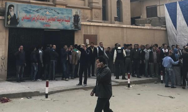 Нападател се опита да атакува църква в Кайро, рани петима