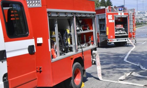 Автобус се запали на пътя Карлово - Павел баня