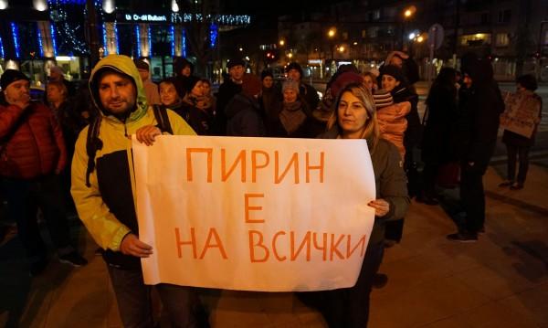 Протести и контрапротести за втория лифт в Банско