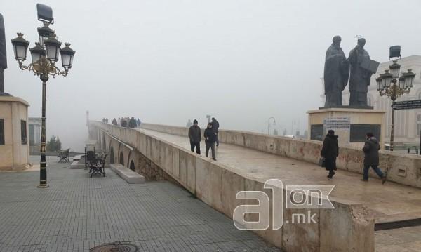 Скопие с безплатен градски транспорт заради смога