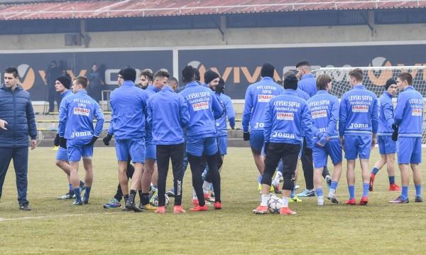Новата перла на Левски с първа тренировка