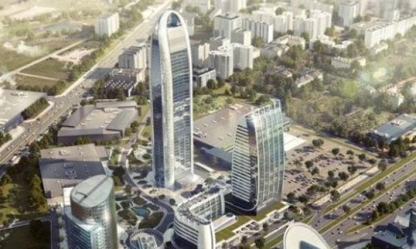 Най-високата сграда в София - до 50 м. и то само на места