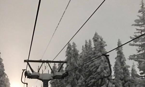 """Въжето на лифта """"Симеоново-Алеко"""" замръзна"""