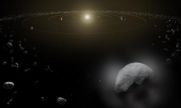 Като небостъргач: Гигантски астероид приближава Земята