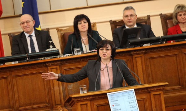 Нинова видя вина в отсъствието на Борисов на дебатите по вота