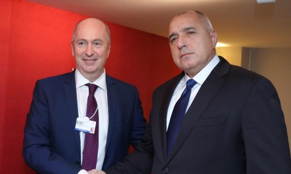 Борисов обсъди газовите проекти у нас с шеф от Royal Dutch Shell