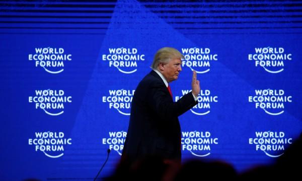 Тръмп в Давос: Америка е място за правене на бизнес