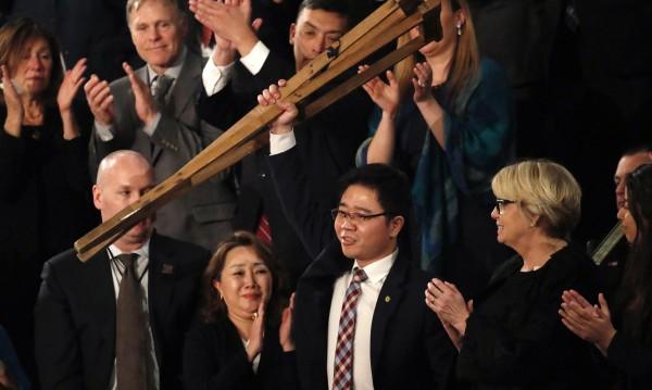 Беглец от Северна Корея – гост на речта на Тръмп