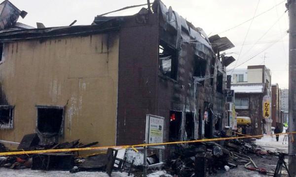 Най-малко 11 загинали при пожар в Япония
