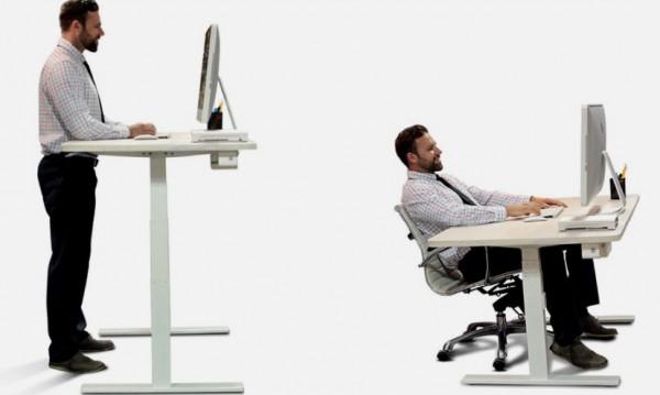 Отслабване в офиса? Възможно е – стойте прави!