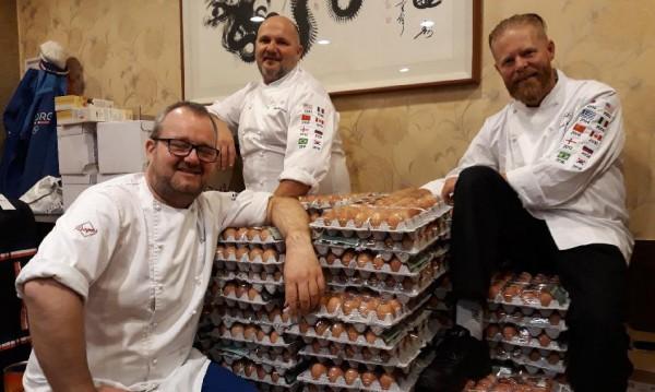 Грешка в превода и 15 000 яйца за норвежците в ПьонгЧанг