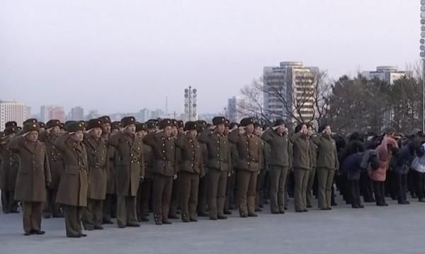 Военен парад в Пхенян ден преди Олимпиадата