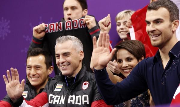 Канада поведе в отборната надпревара по фигурно пързаляне