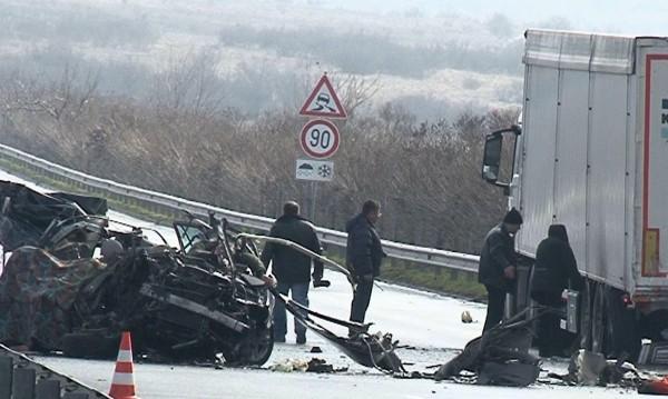 Тежка катастрофа: Мъж загина  на пътя Русе – Бяла