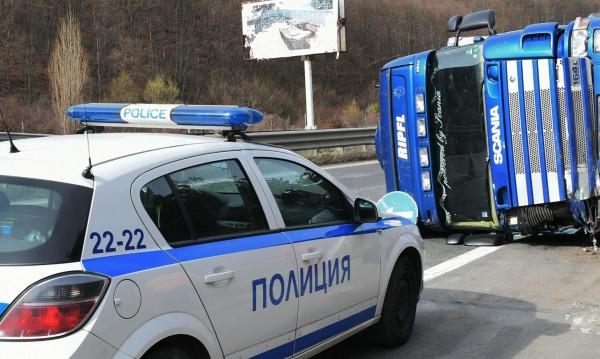Шофьор на камион загина на място на пътя Плевен - Бяла