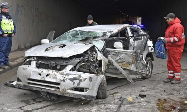 """Жената, паднала от моста на """"Малинов"""", стабилизирана"""