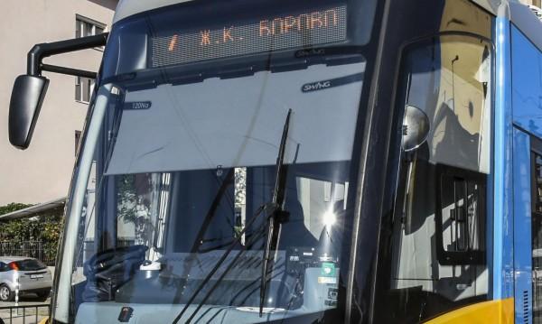 В София: Нови трамваи, интелигентен транспорт... за 125 млн.