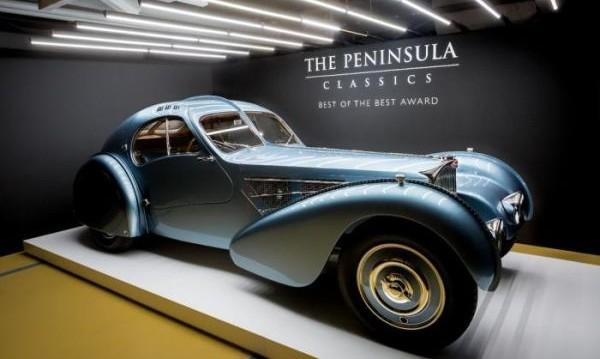 Определиха Bugatti Type 57 за най-разкошния автомобил