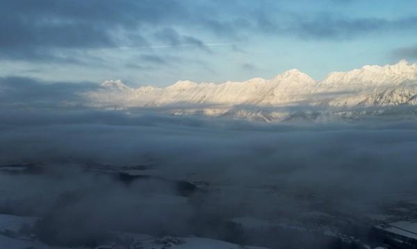 Облачно и тук-там мъгливо, слънце – в планините