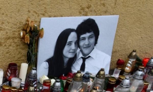 Сбогом: Погребаха словашкия журналист в сватбения костюм