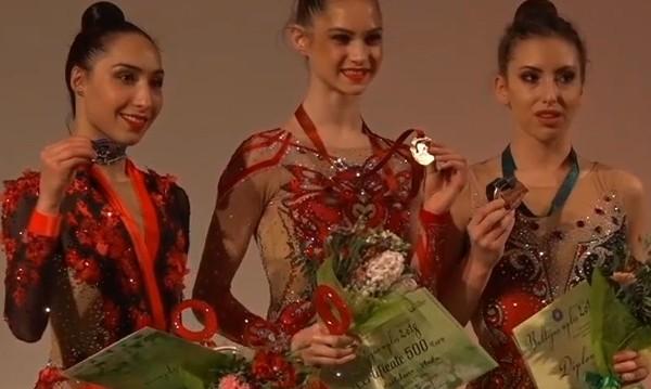 Катрин Тасева с бронз в Рига, девойките носят сребро