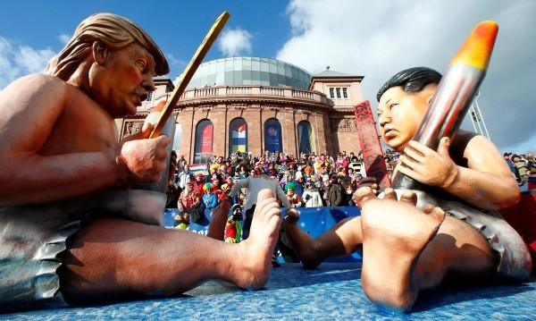 Алфа-мъжкарите Тръмп и Ким Чен Ун: Шоу на световно ниво!