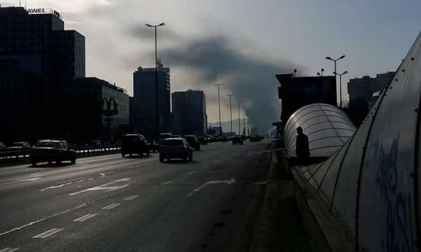 """След пожара на """"Цариградско шосе"""": Дишайте спокойно!"""