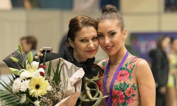 Катрин Тасева със сребро в многобоя на турнира в Киев