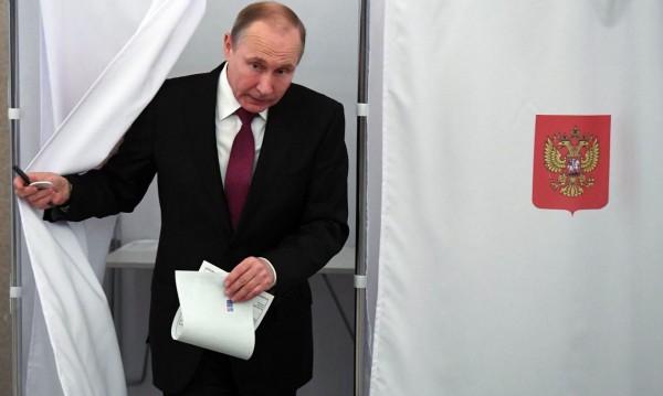 76,65% от гласовете за Путин и… всичко е точно в Русия
