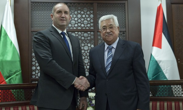 Радев: Решението за Близкия изток – две независими държави!
