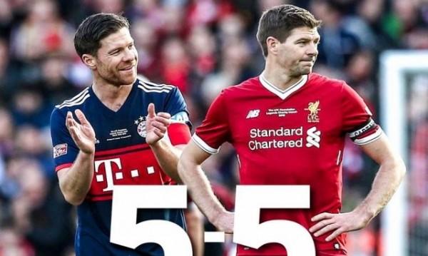 Легендите на Ливърпул и Байерн още играят футбол