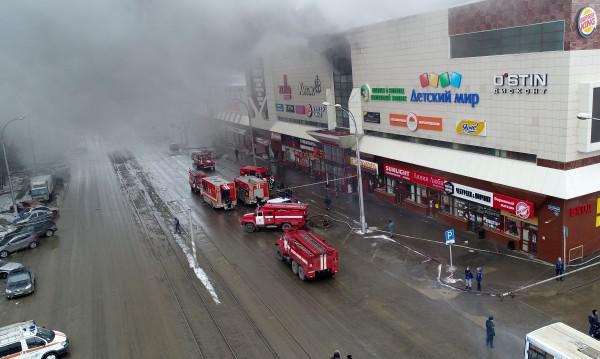 Петима са загинали, 30 са в болница след пожара в Кемерово