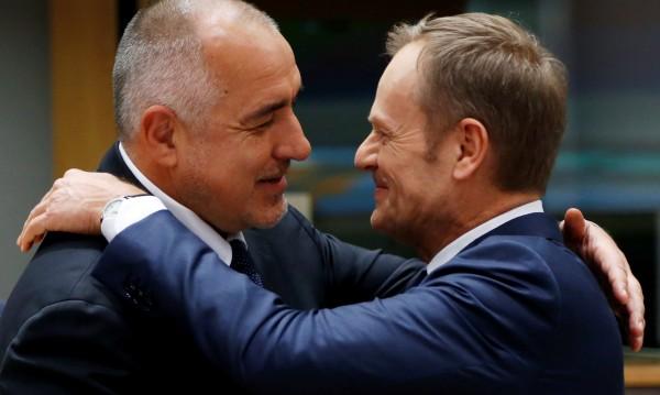 Туск благодари на Борисов: Чудесно е че идва Ердоган!