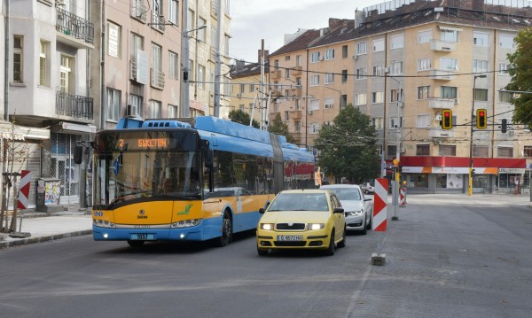 6 месеца промяна в движението в София - от 1 април